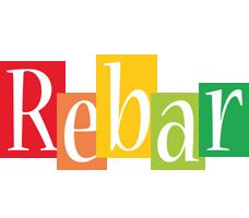 Rebar colors logo