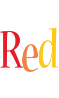 Red birthday logo