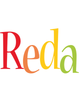 Reda birthday logo