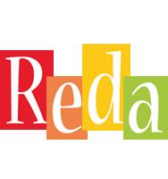 Reda colors logo