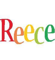 Reece birthday logo