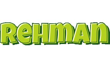 Rehman summer logo