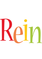 Rein birthday logo