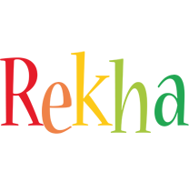 Rekha birthday logo