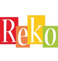 Reko colors logo