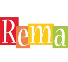 Rema colors logo