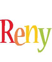 Reny birthday logo