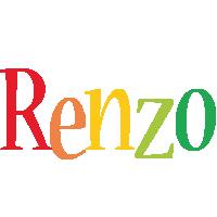 Renzo birthday logo