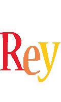 Rey birthday logo