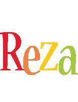 Reza birthday logo
