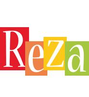 Reza colors logo