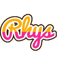 Rhys smoothie logo