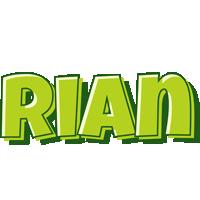 Rian summer logo
