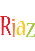 Riaz birthday logo