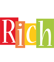 Rich colors logo