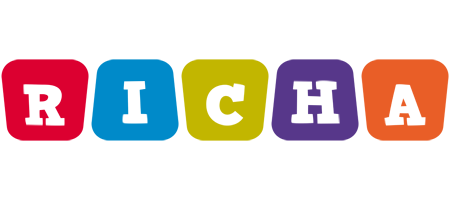 Richa kiddo logo