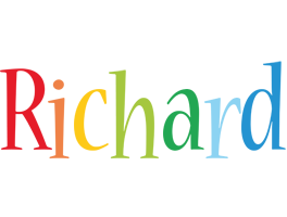 Richard birthday logo