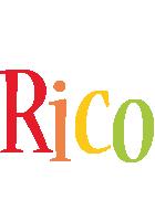Rico birthday logo