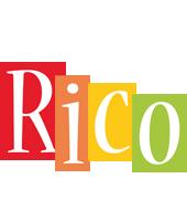 Rico colors logo
