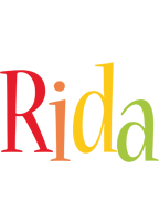 Rida birthday logo