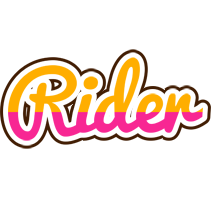 Rider smoothie logo