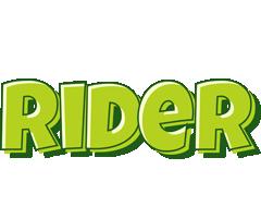 Rider summer logo