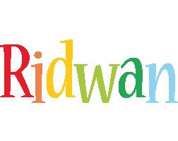 Ridwan birthday logo