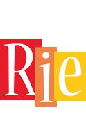 Rie colors logo
