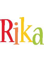 Rika birthday logo