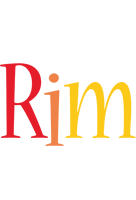 Rim birthday logo