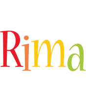Rima birthday logo