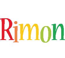 Rimon birthday logo