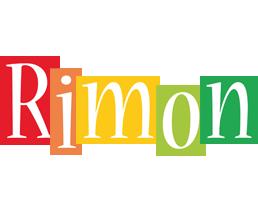 Rimon colors logo
