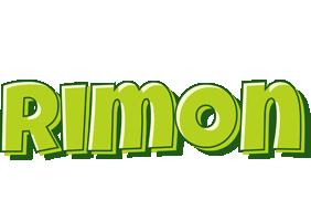 Rimon summer logo
