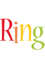 Ring birthday logo