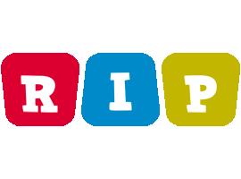 Rip kiddo logo