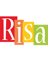 Risa colors logo