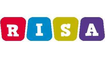 Risa kiddo logo