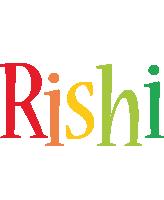 Rishi birthday logo