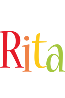Rita birthday logo