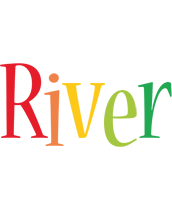 River birthday logo