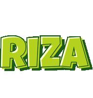 Riza summer logo