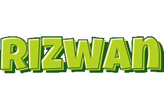 Rizwan summer logo