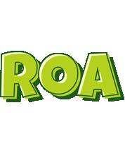Roa summer logo