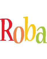 Roba birthday logo