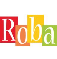 Roba colors logo