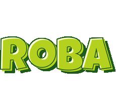 Roba summer logo