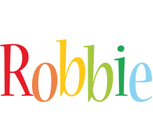 Robbie birthday logo