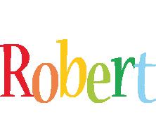 Robert birthday logo