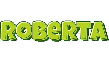 Roberta summer logo